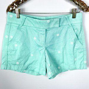 J. Crew Factory Broken In Nautical Chino Shorts